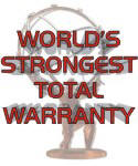 World's Strongest Total Warranty